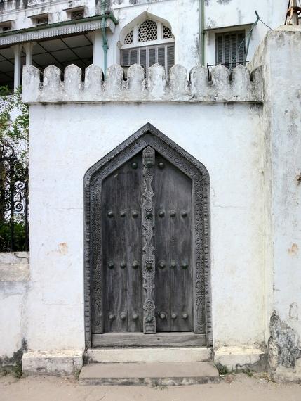 The wooden doors of zanzibar