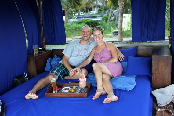 Breezes Resort, Baraza and Palms hotels on the southeastern coast of Zanzibar