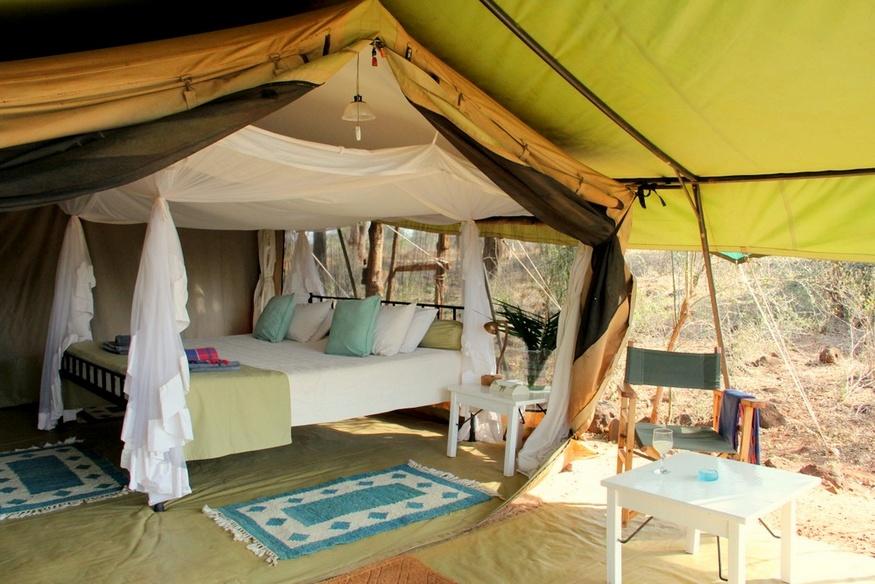 offbeat safari tents