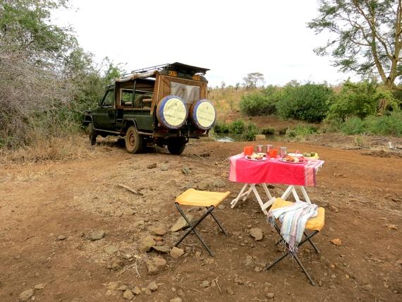 offbeat safaris game drive breakfast