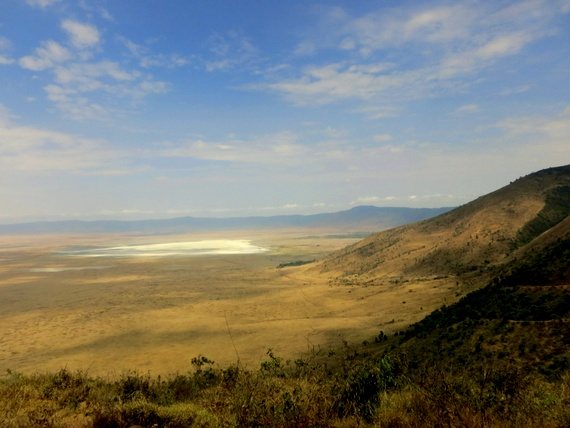 Ngorongoro Crater rim view