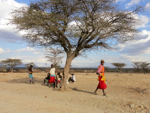 Samburu people of Kenya