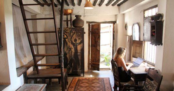 Wildebeest apartments in Lamu Kenya