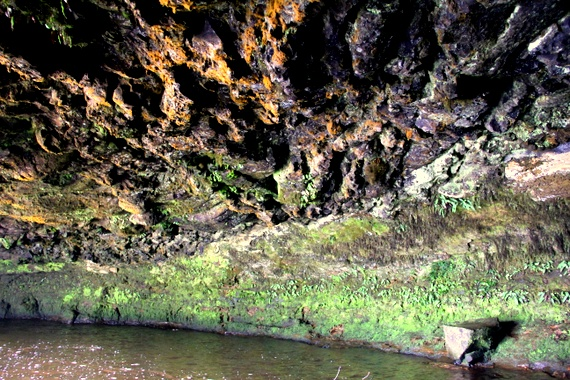 The Queen's Cave in Aberdare National Park, Kenya
