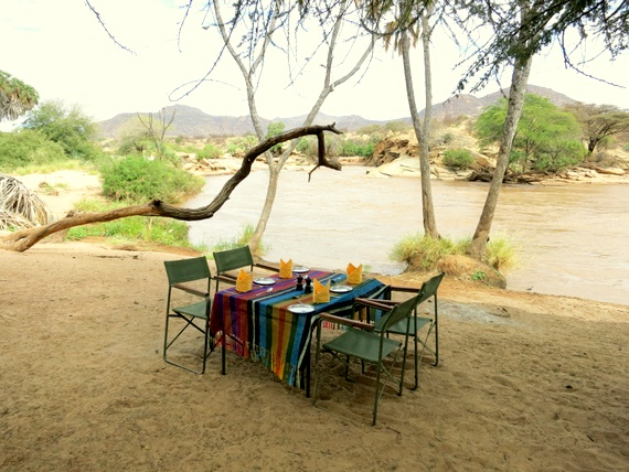 Joy's Camp luxury safaris