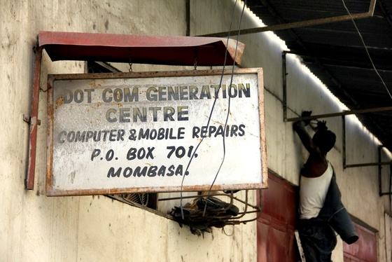 Kenya dot com generation