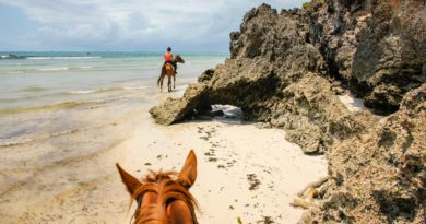 Diani Beach horseback riding