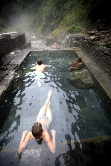Annapurna hot springs hike