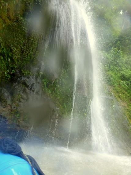Seti River Waterfalls in Nepal
