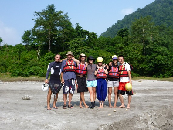 rafting trip nepal