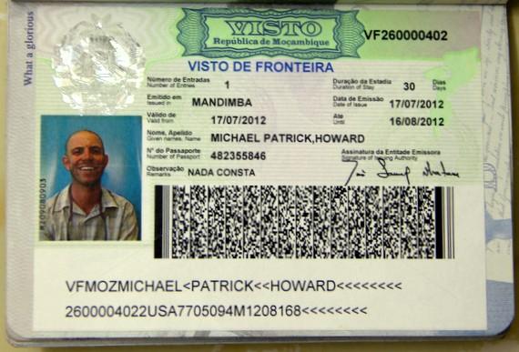 visa tips for mozambique