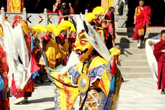 Gedong Mask Festival - Benzilan China