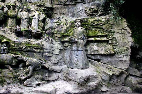 Kangxi Emperor's visit to Emeishan China