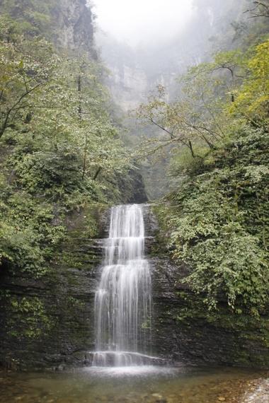 Waterfalls of Emeishan China