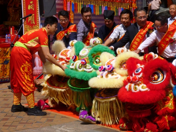 lion dance festival china