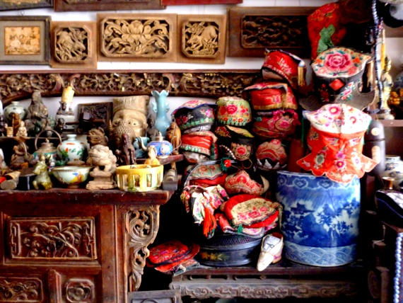 chinese antique hats