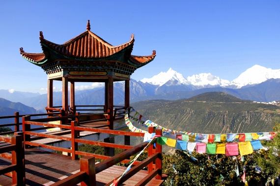 china mountain pagoda
