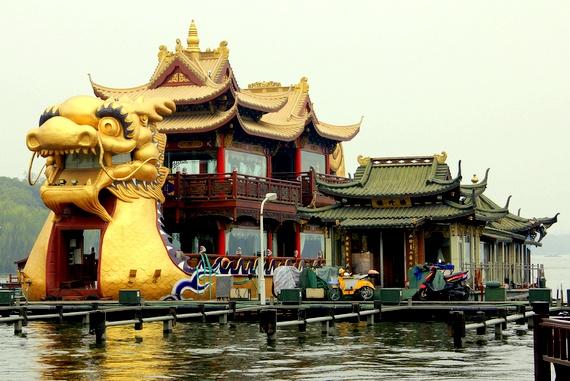 massive dragon boat