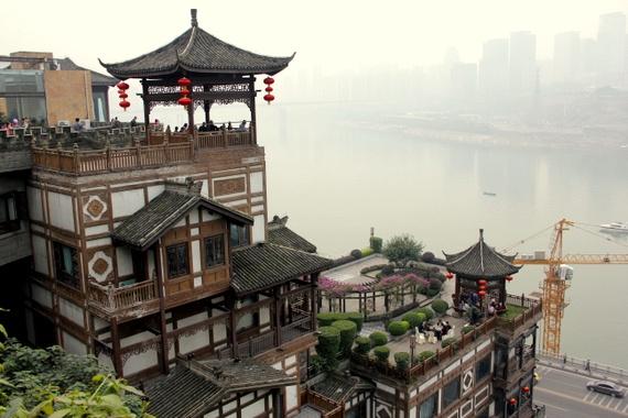 Yangtze river boat from Chongqing