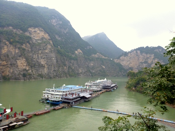 Three Lesser Gorges dock