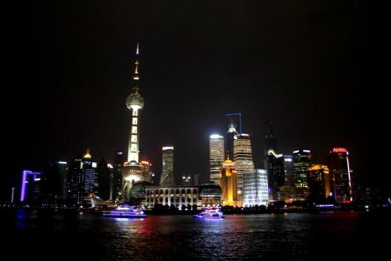 Shanghais Bund view