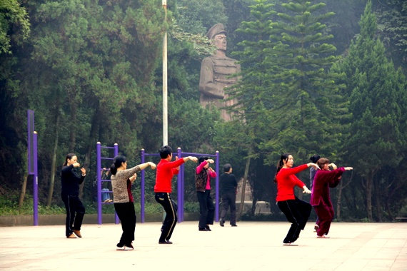 Tai Chi in Beijing park
