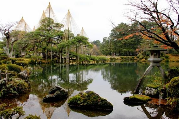 kanazawa castle garden