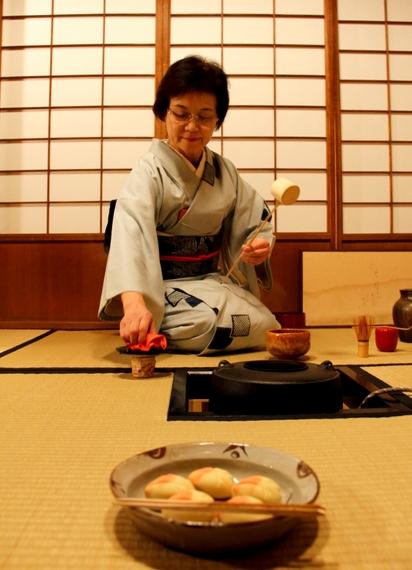 art of travel tea cermony class