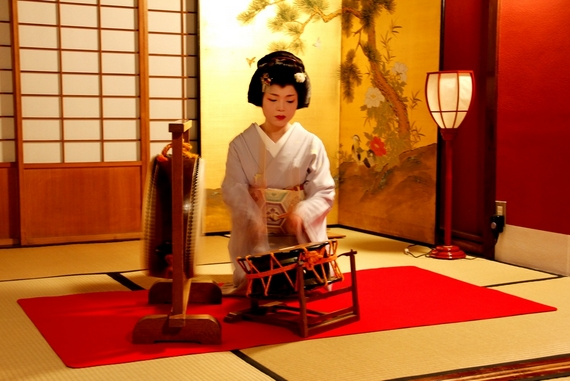dinner with a geisha