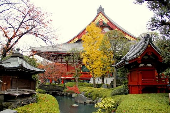 Asakusa Shrine at Sensō-ji Tokyo