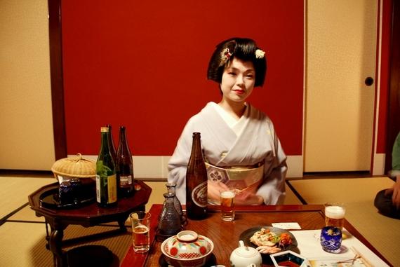 geisha dinner session