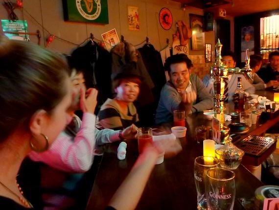 ropongi pub crawl
