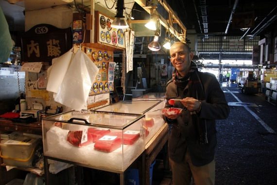 tokyos biggest fish market