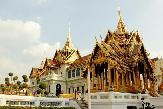 Bangkok Grand Palace exterior