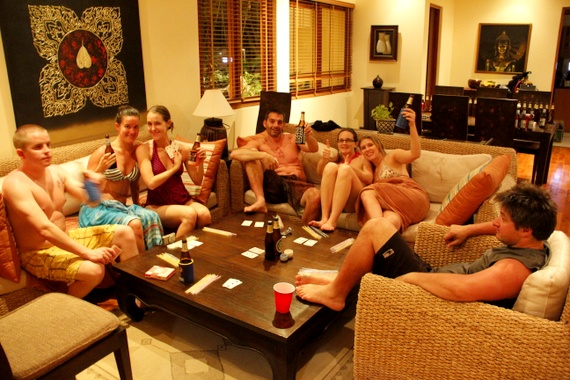 Lucky 7's poker in Thailand