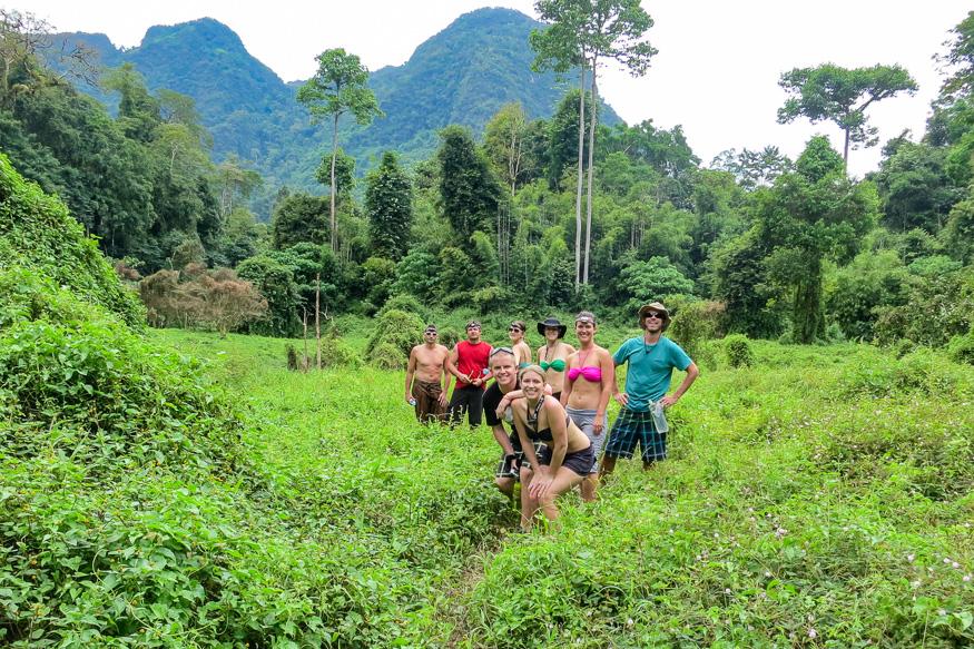 hiking khao sok