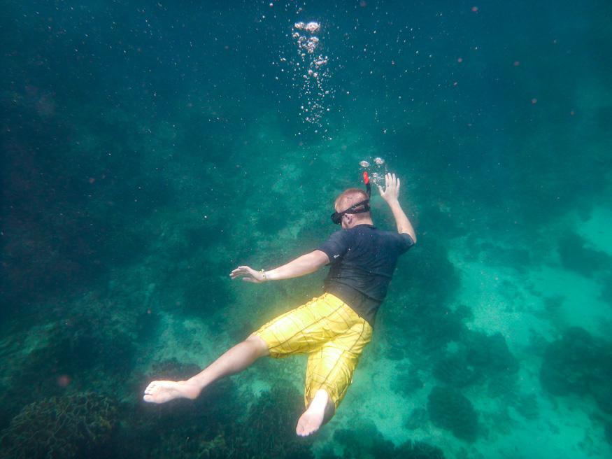 extreme snorkeling