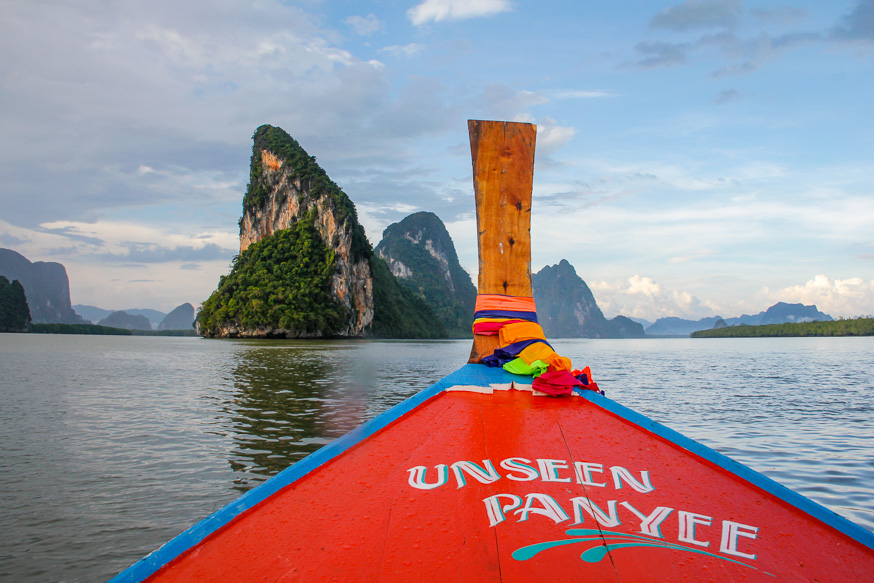 longtail boat tours