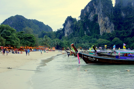 west railay at night