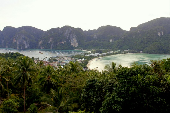View over Koh Phi Phi, Thailand