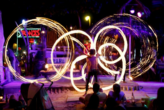Koh Phi Phi Fire Show, Thailand