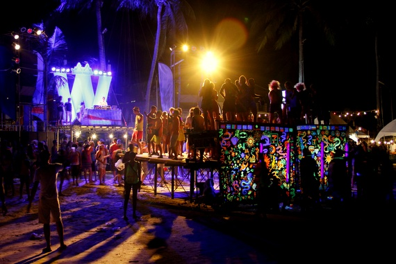 Photo of the Full Moon Party madness, Thailand
