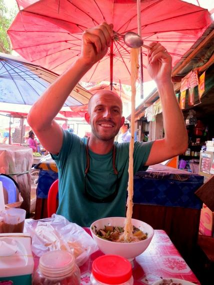 Cambodian noodle soup