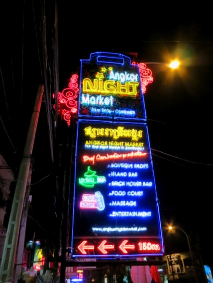 Best Night Market in Siem Reap, Cambodia