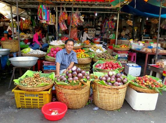 Phnom Phen markets