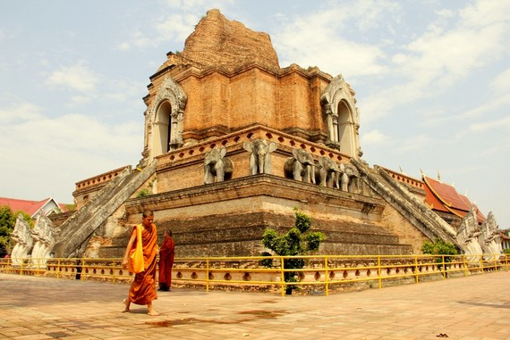 Thailand Chiang Mai temples