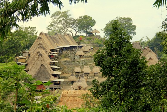 Bajawa villages