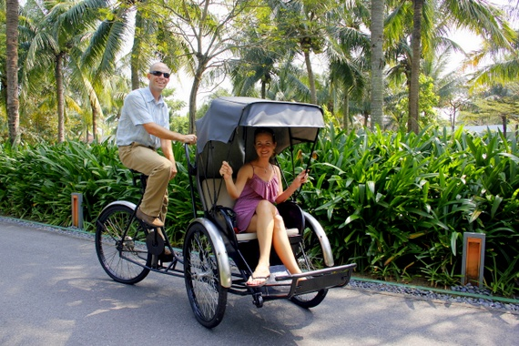 Bike limo in Vietnam