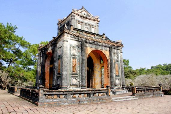 Tomb of Tu Duc Hue Vietnam