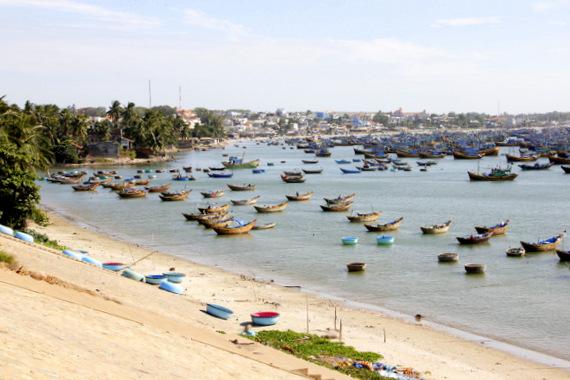 Mui Ne harbor, Vietnam